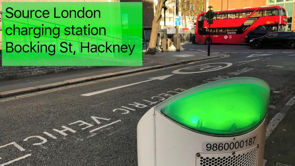 Source charging station Bocking St, Hackney, London E8 4RU