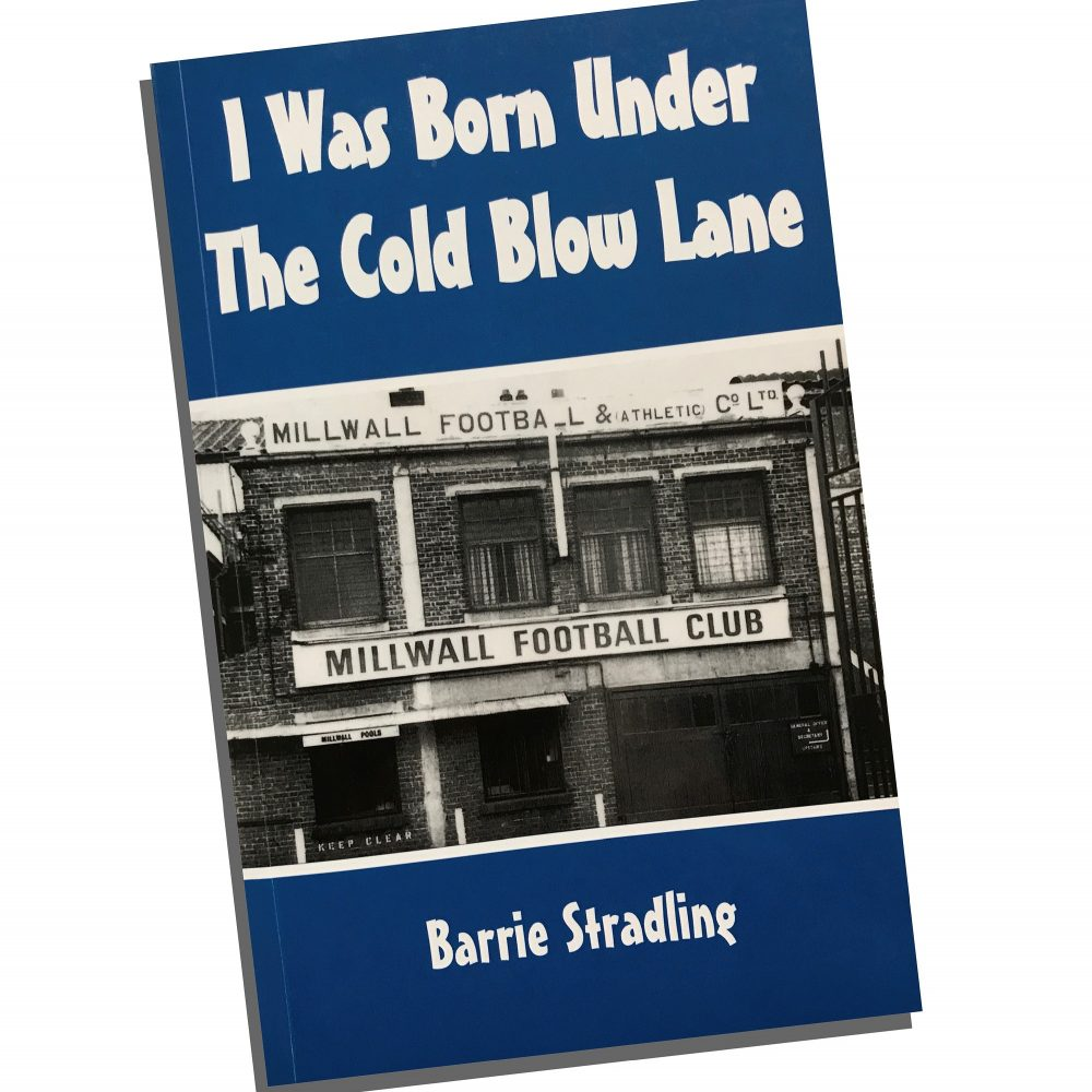"""Barries Stradling's book """"I was Born under the Cold Blow Lane"""""""