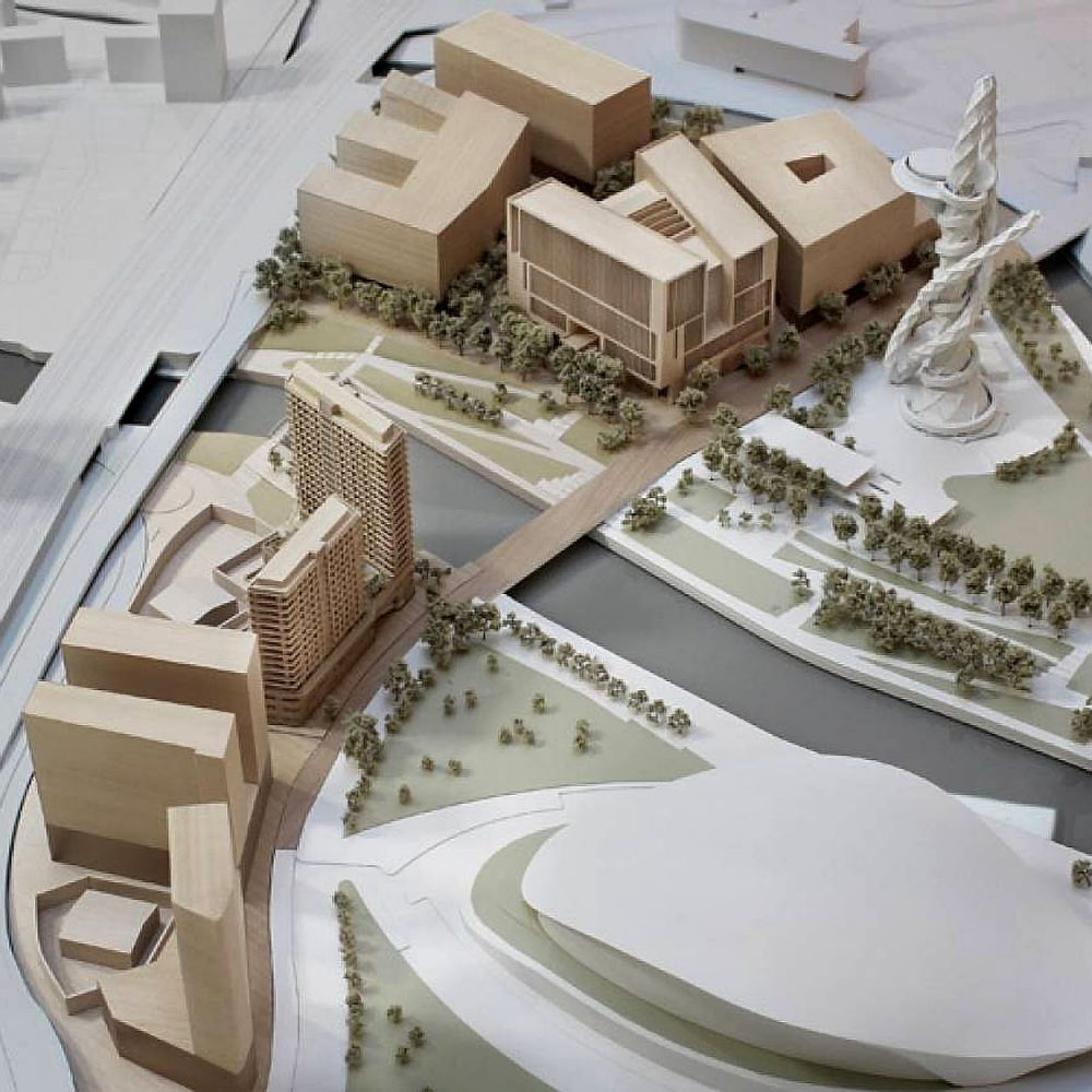 Model of UCL East Bank