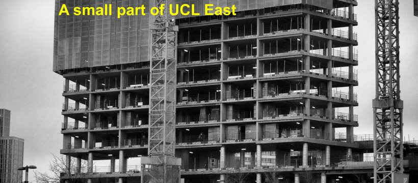 UCL East student accommodation