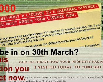 TV licence demands - a strange way of marketing