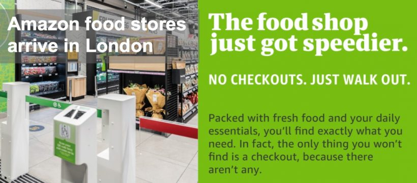 Amazon Fresh in London