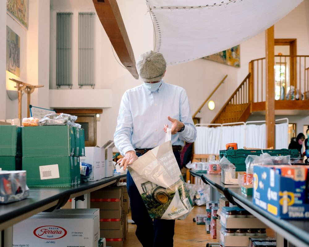 Bow Foodbank selection