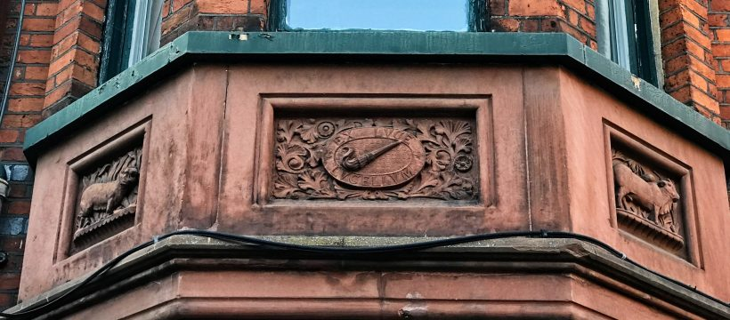 "On the side of the gatehouse in Fairfield Road there is the inscription EX LUCE LUCELLUM. It means ""out of light a little profit"" which was to be the motto on the tax stamp stuck to each box of matches."
