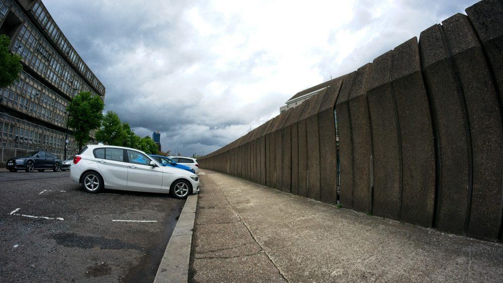 Robin Hood Gardens May 2021 - Berlin Wall