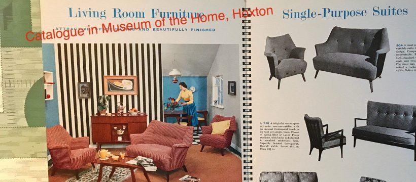 1972 furniture catalogue