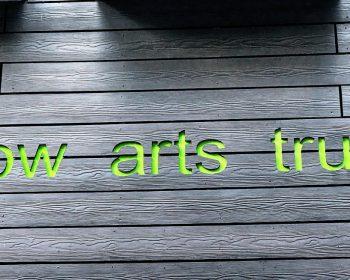 Bow Arts Trust sign
