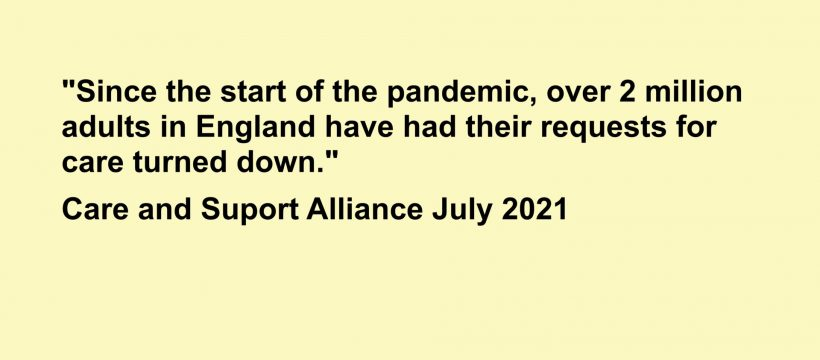 The English Care Crisis