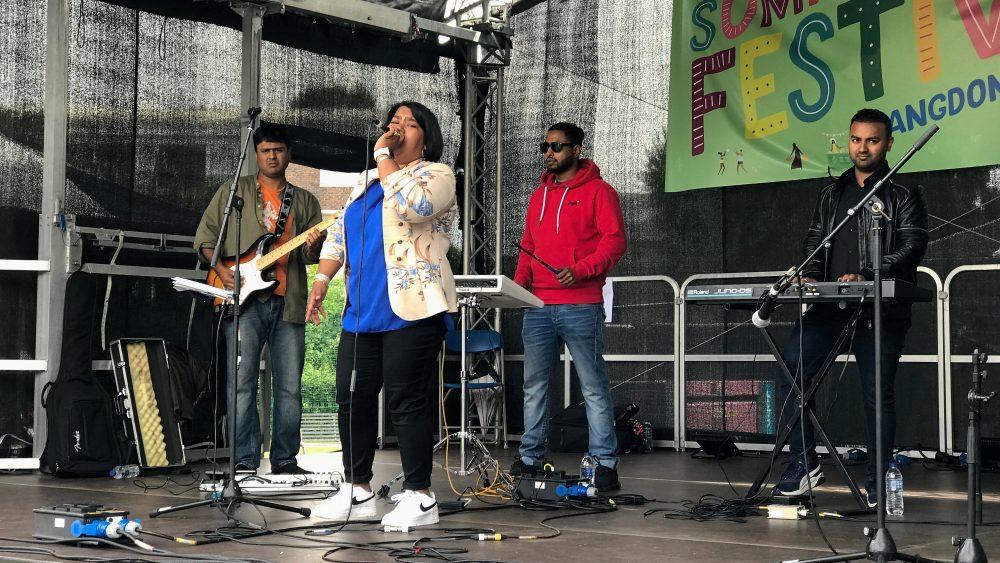 Music at Langdon Park Vaccination Festival