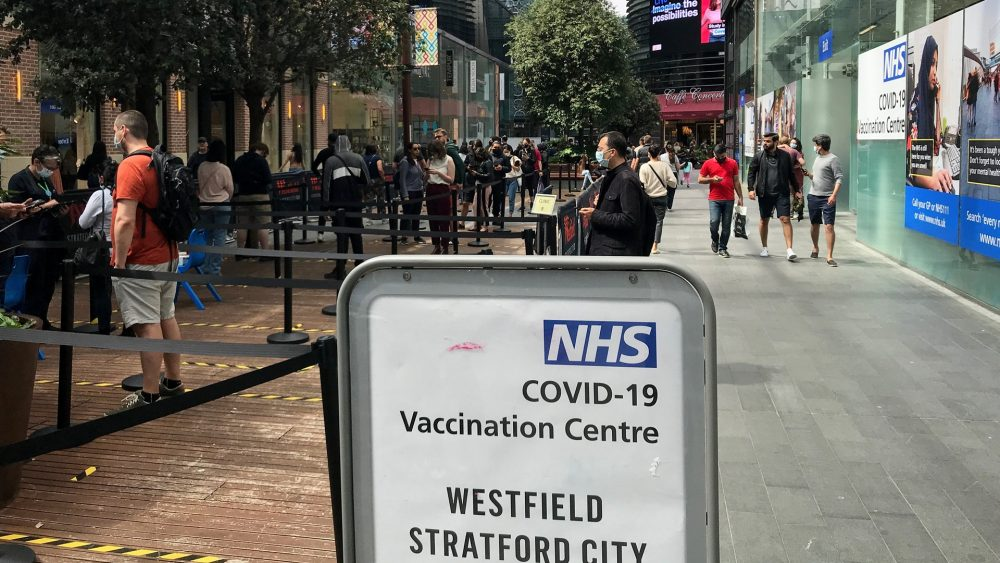 Westfield Vaccination Centre on The Street