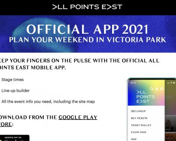 All Points East 2021