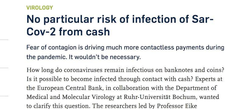 Ruhr University in Bochum covid on cash report
