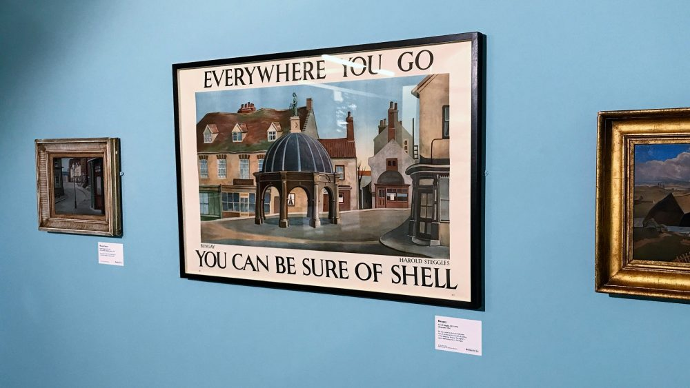 1934 You can be sure of Shell poster by Harold Steggles
