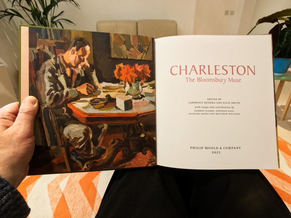 The book of the exhibition Charleston the Bloomsbury Muse