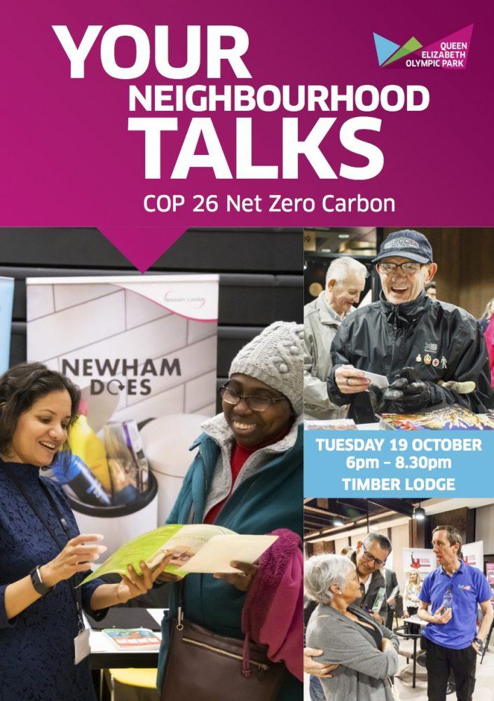 Your Neighbourhood Talks 2021 - COP 26 Net Zero Carbon